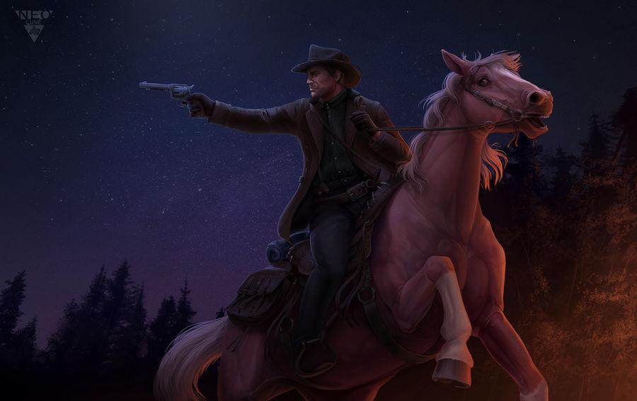Red Dead Redemption ~ Fanart by NeoluneRose