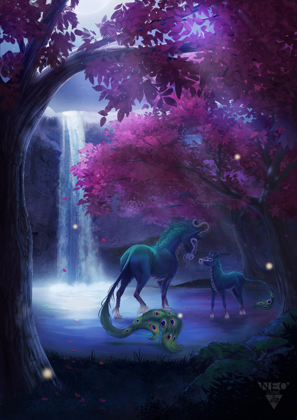 A peaceful place by NeoluneRose