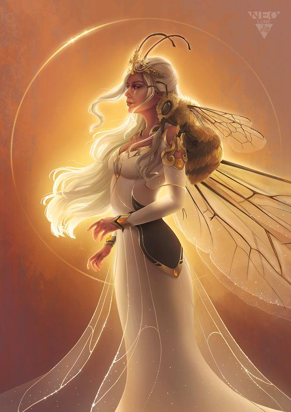 Queen of Ausolria by NeoluneRose