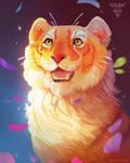 Petal Tiger ~ DTIYS by puffygator