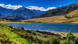 Across the Tranzalpine Train route, New Zealand