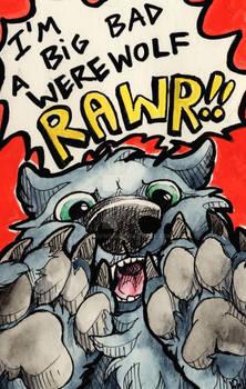 Big bad werewolf