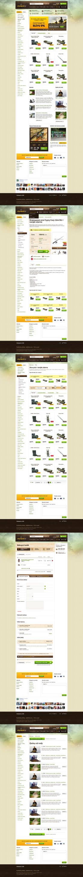 E-commerce fishing gear