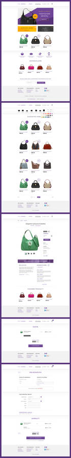 E-commerce with handbags