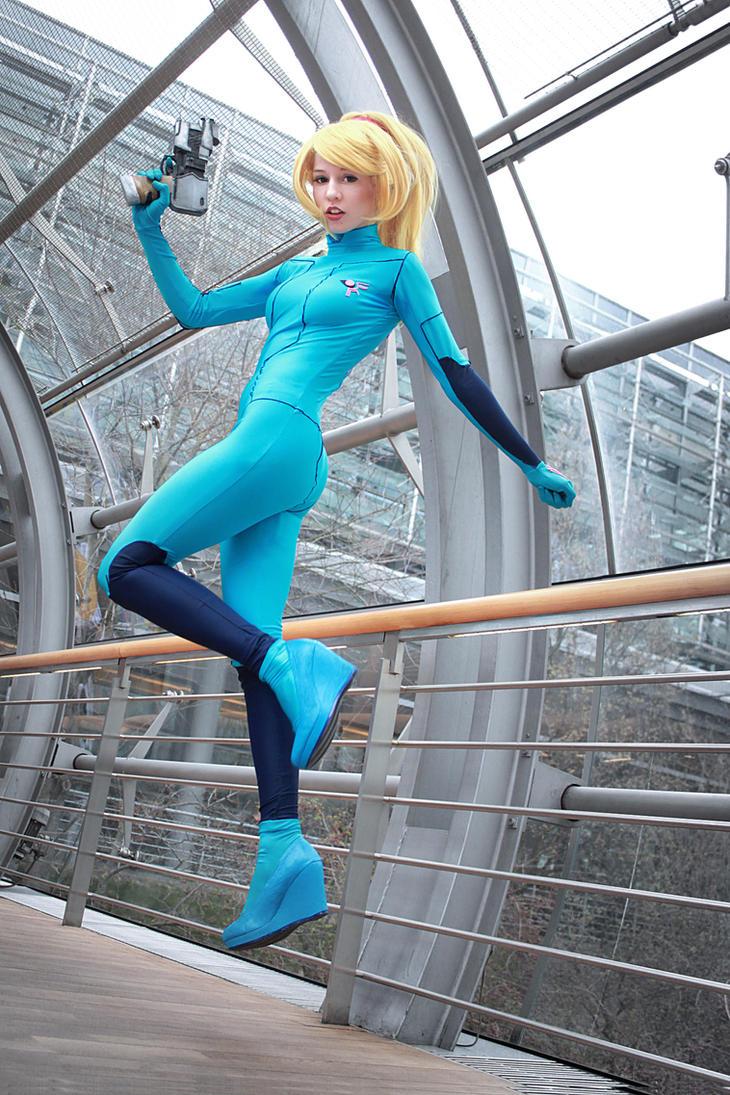 Samus Zero Suit II by MademoiselleLin