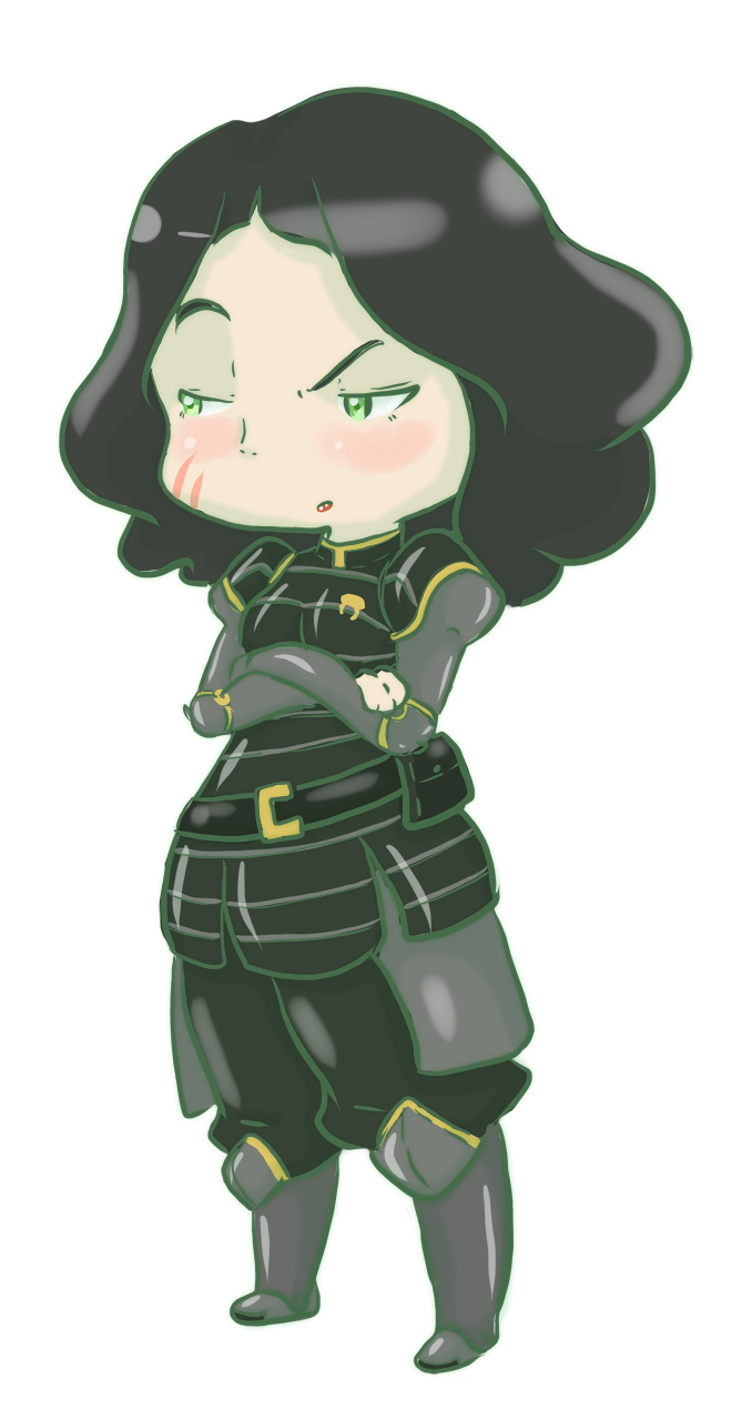 Lin Beifong by Cloverminto