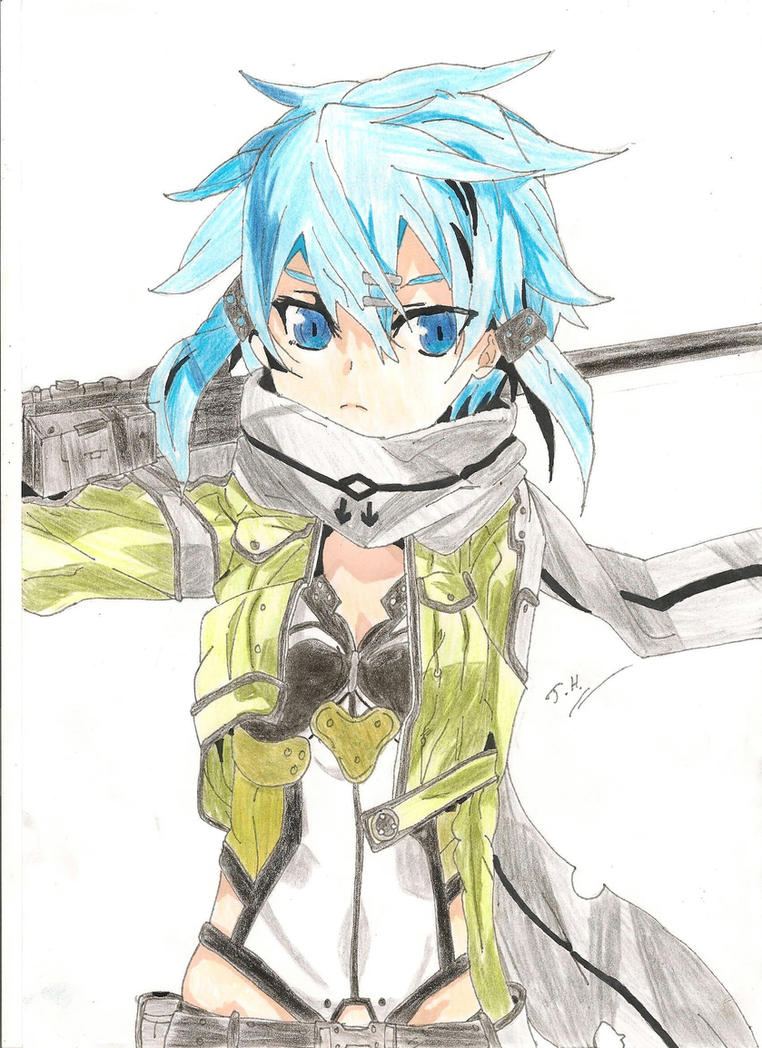 Sinon (SAO Light Novel) By JethroHarper ...