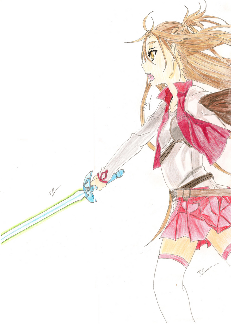 Asuna The Fencer (SAO Light Novel) By JethroHarper ...