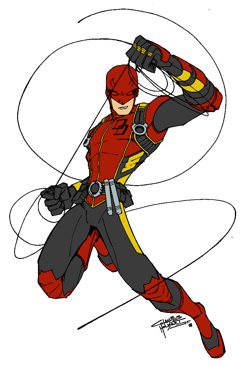 Daredevil Redesign Redux by Lordhaylen