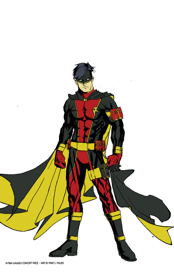 Robin Redesign by Lordhaylen