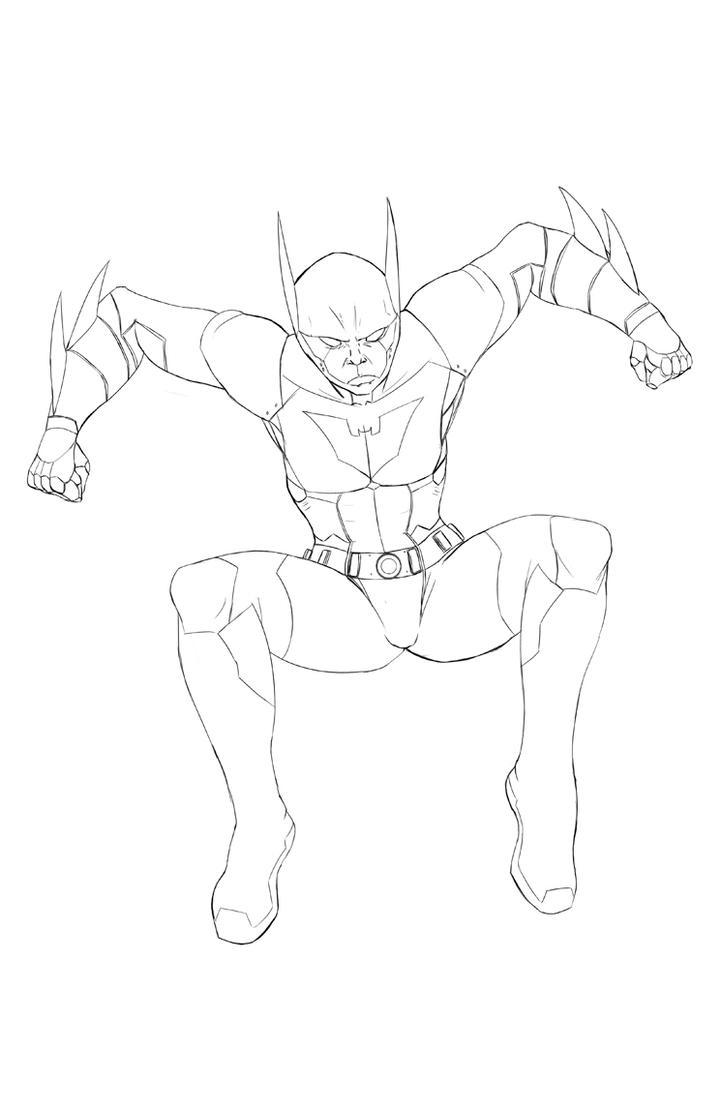 Batman Beyond Lines By DStevensArt On DeviantART