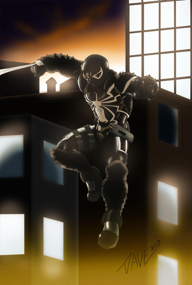 Agent Venom Ultimate Spider Man