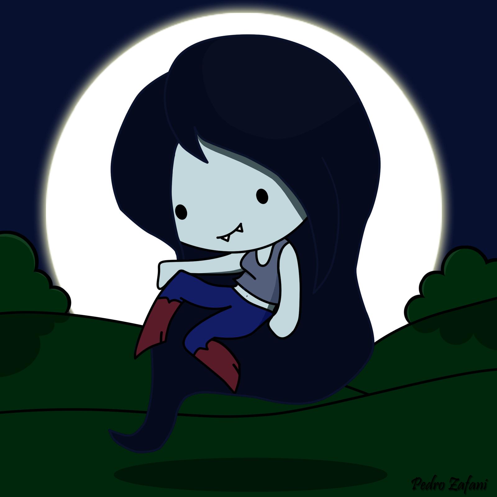 Marceline - Adventure Time - Fan Art . by CloakZ on DeviantArt