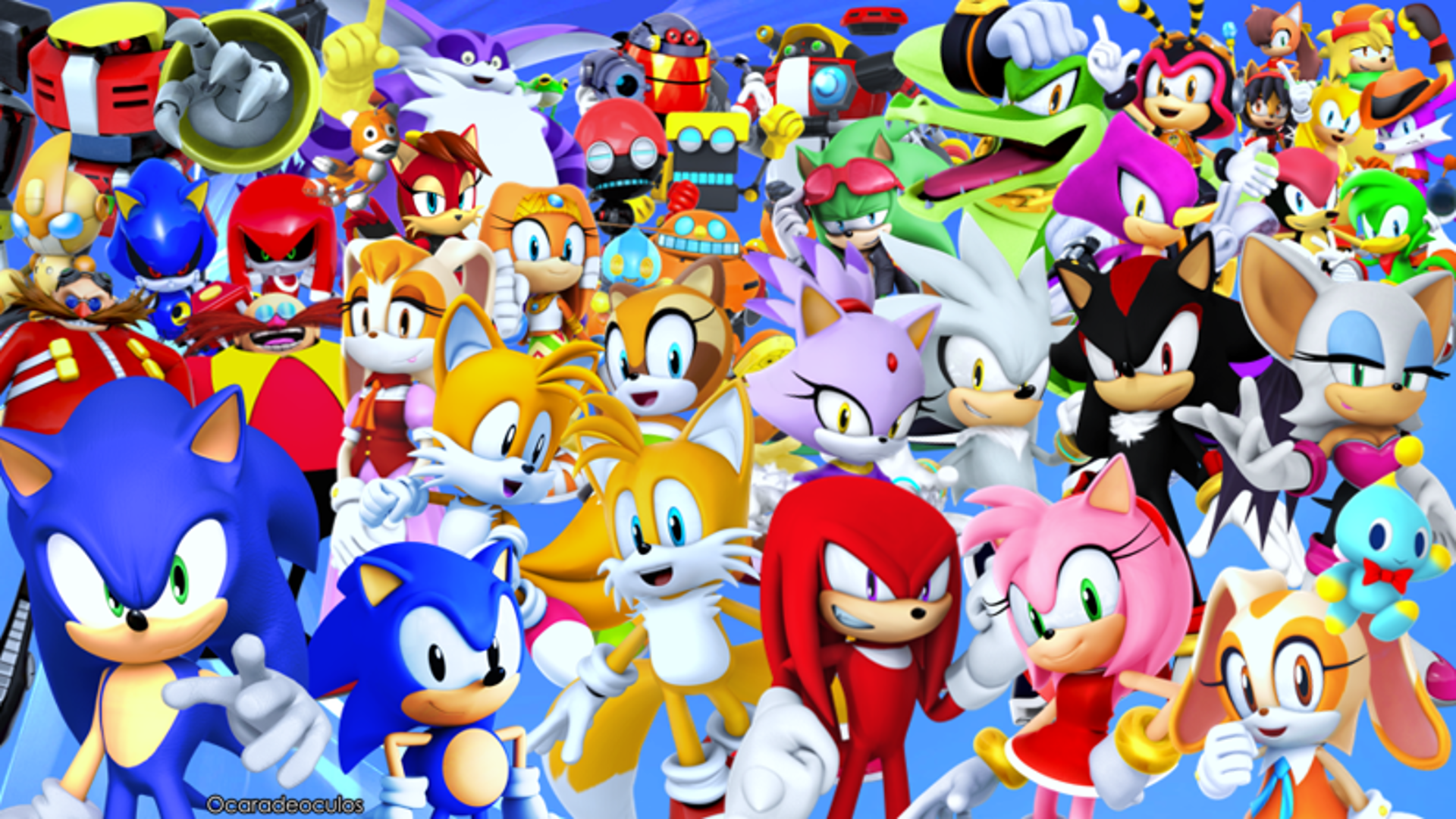 Sonic the Hedgehog Wallpaper by Ocaradeoculos on DeviantArt