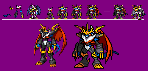 Imperialdramon Fighter Mode by Demo9ic on DeviantArt