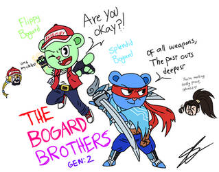 :.:Happy Tree Friends - The Bogard Brothers:.: by shadethecb