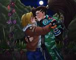 :.:LOL x KOF - The End Of Araxiel's Search:.: by ShadeTomlinson