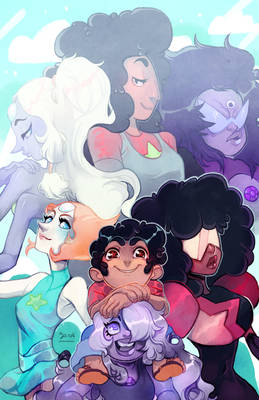 Steven Universe : Fusions