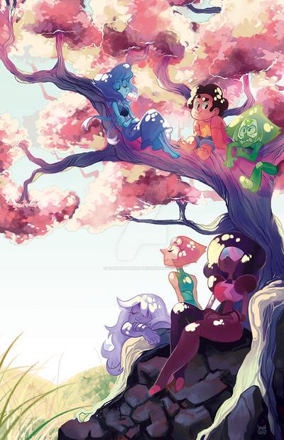 Tree-lax | Steven Universe by vanduobones