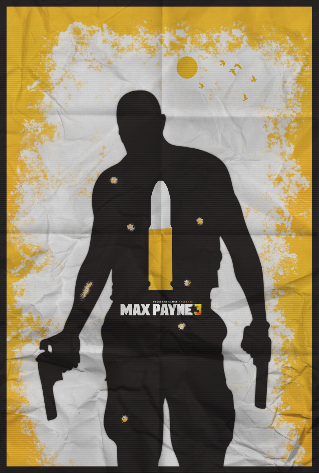 Max Payne 3 - I Don't Feel Pain, I Deal It by shrimpy99
