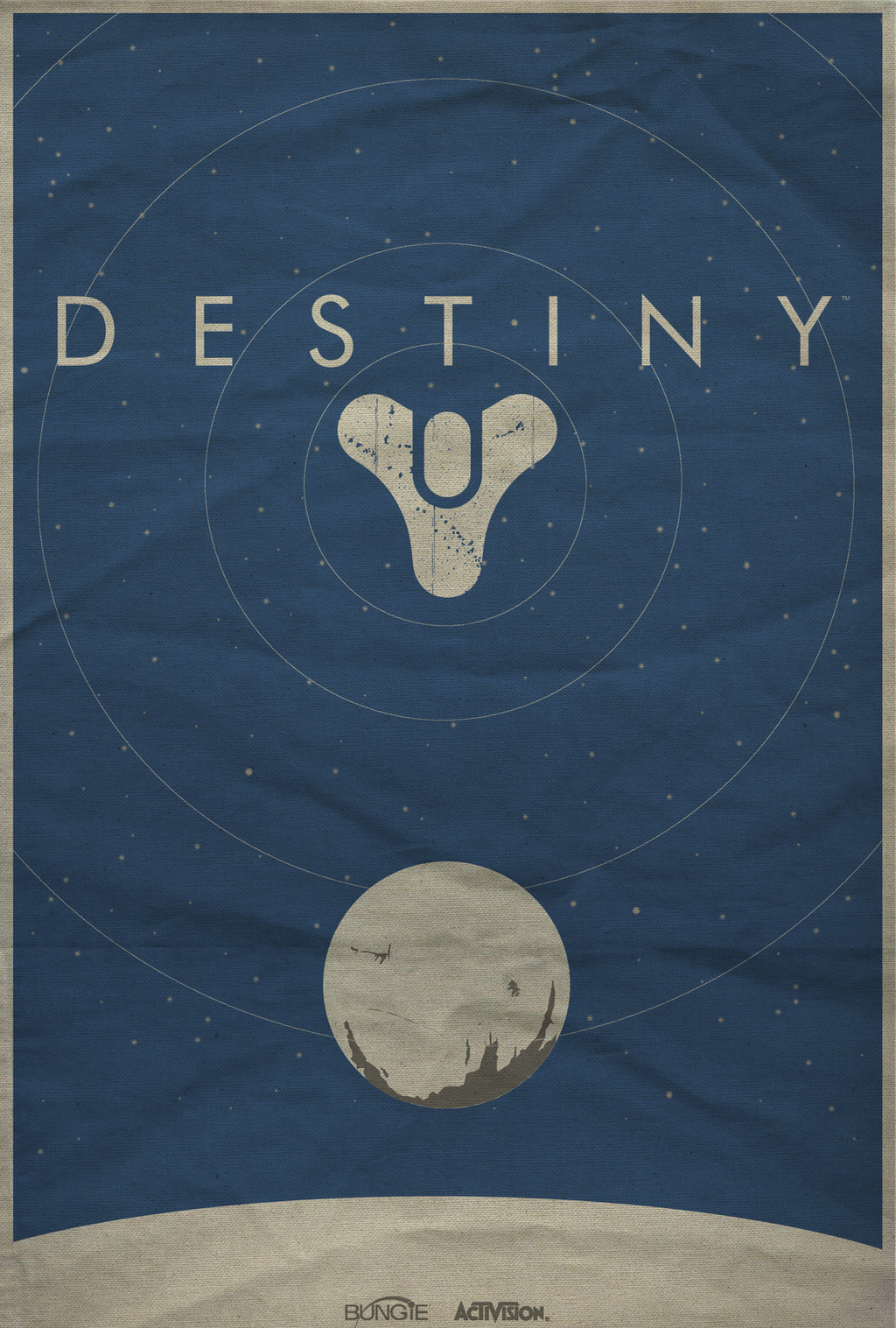 Destiny minimalist poster by shrimpy99 on deviantart for Buy art posters online