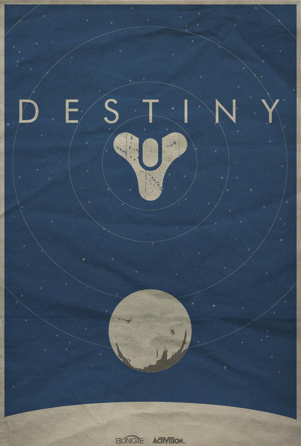 Destiny Minimalist Poster
