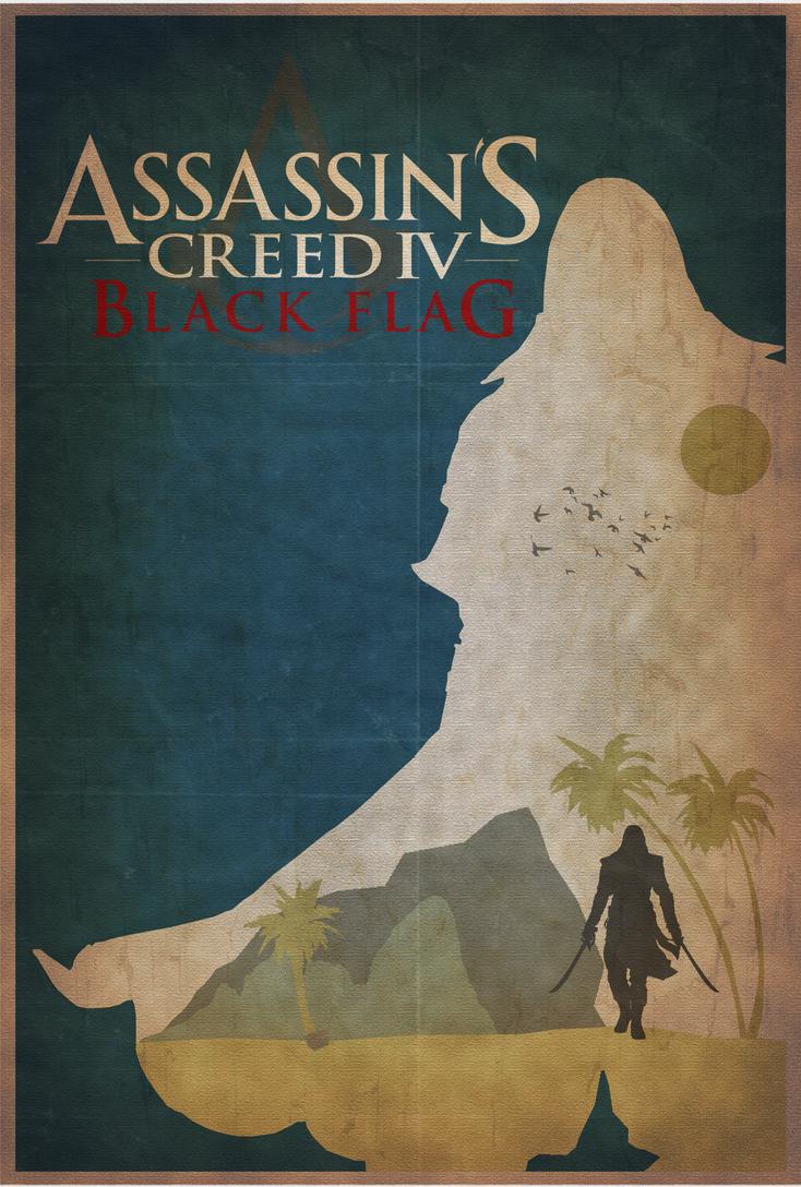 AC4 - Minimalist Poster by shrimpy99