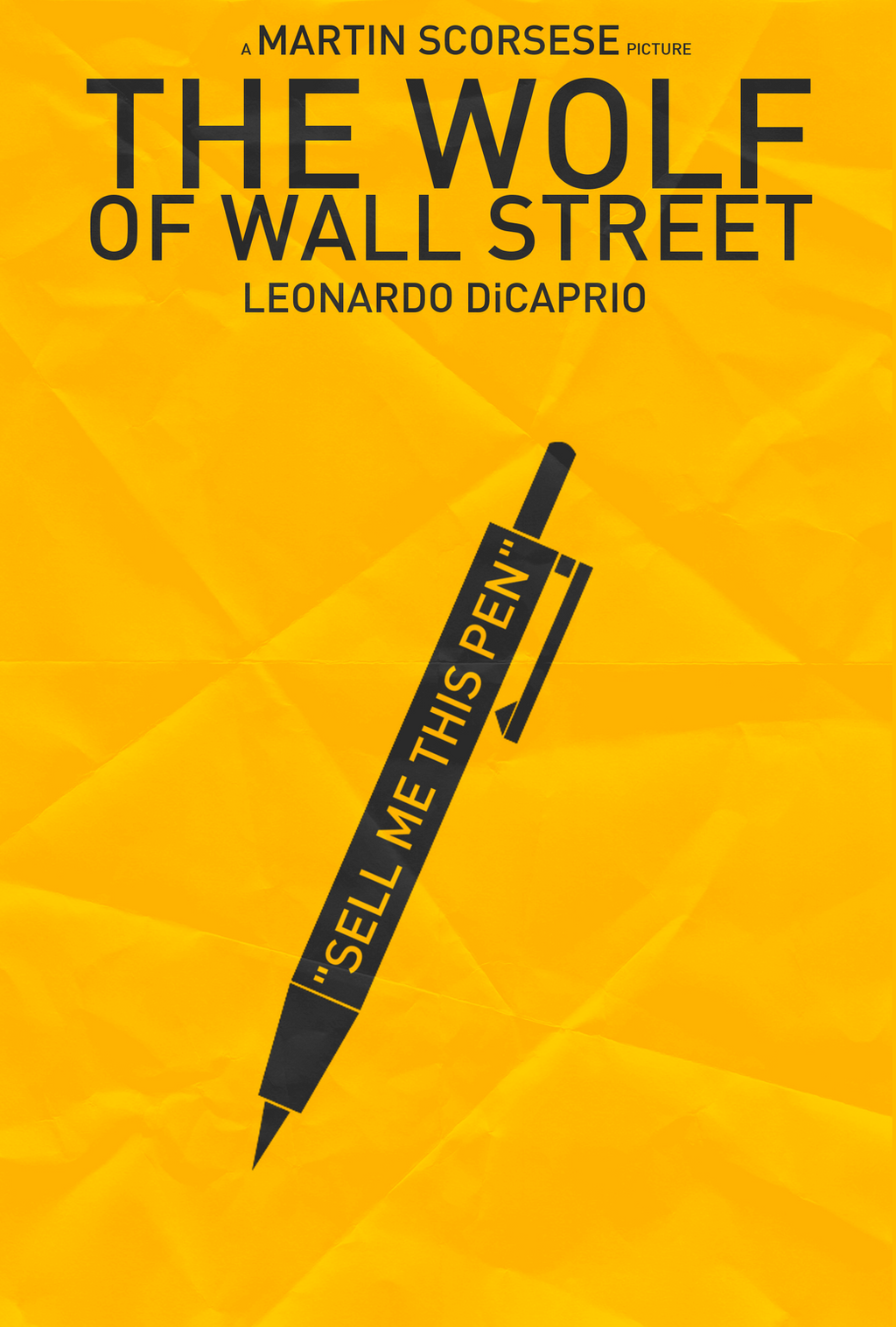 The Wolf of Wall Street - Pen by shrimpy99 on DeviantArt