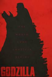 Godzilla Movie Poster by shrimpy99