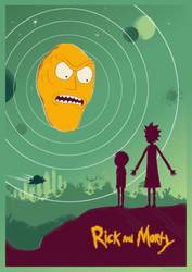 Rick And Morty (Limited Edition Prints) by shrimpy99