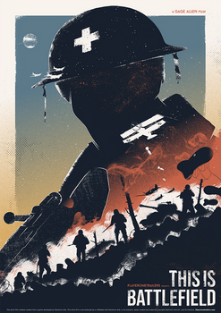 This Is Battlefield - Short Film Promo Art