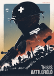 This Is Battlefield - Short Film Promo Art by shrimpy99