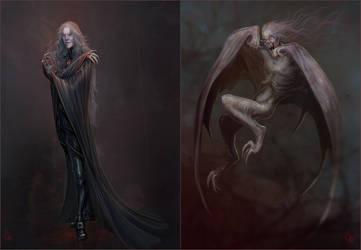 Vampire by GhostNinth
