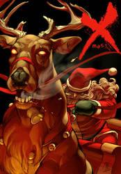 Bad Ass Santa by Jo-Chen