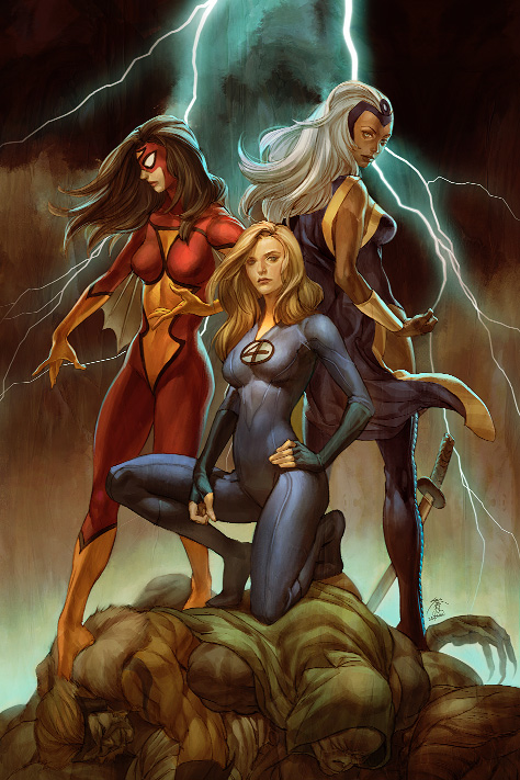 Marvel's Girl Comics No 3 by Jo-Chen