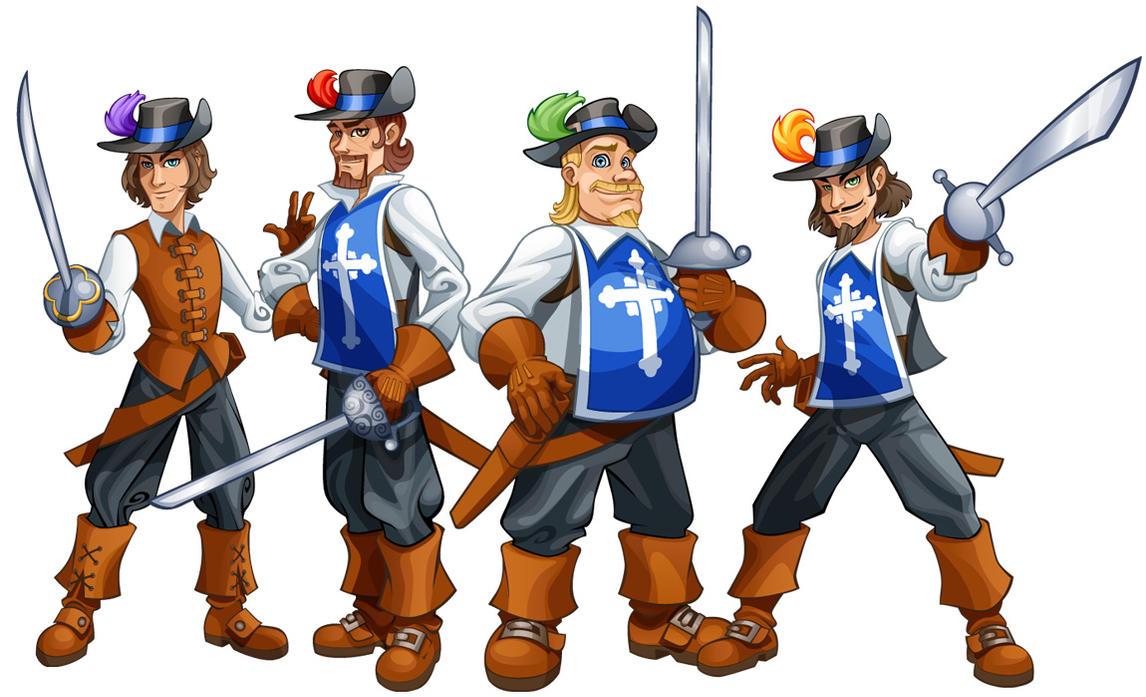 Risultati immagini per musketeers