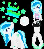 Mlp new oc: Snow glitter by DangerDana220