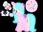 Mlp rainbow diamond's new look