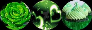 Green divider (F2U) by DangerDana220