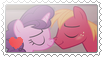 Mlp Big Macintosh and Sugar Belle stamp (F2U) by Kawaiirainbow220