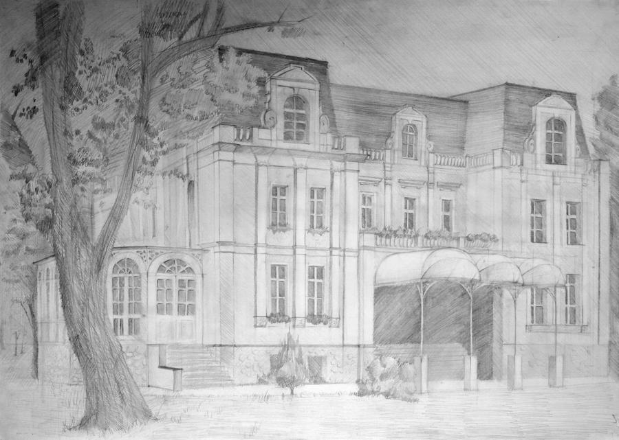 Palace in Niewodniki by allholic