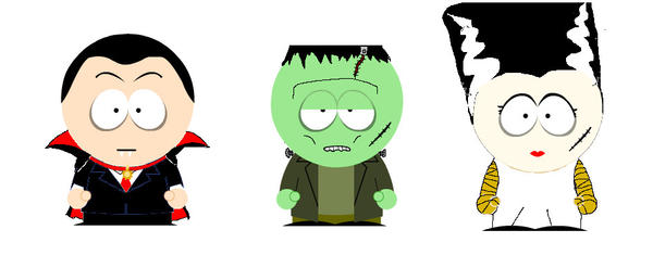 South Park Monsters Wave 1 by Adam430k