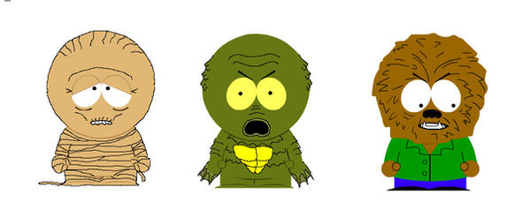 South Park Monsters Wave 2 by Adam430k