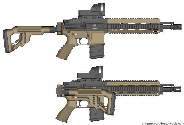 M416 custom by theqroks on deviantart - M416 wallpaper ...