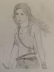 Lara Croft by alperyarali1