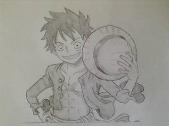 Monkey D. Luffy by alperyarali1