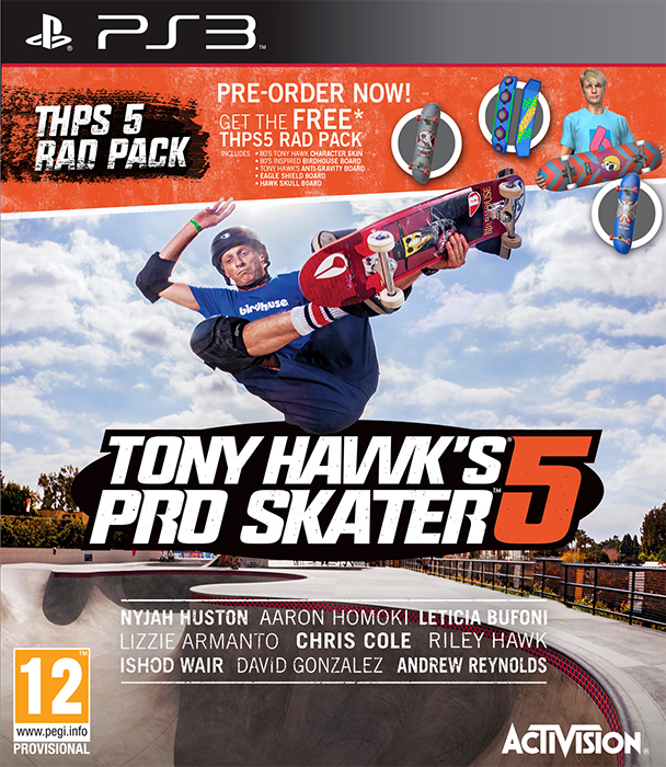 Tony Hawk's Pro Skater 5 + DLC for PS3 (CFW) by vlade98 on