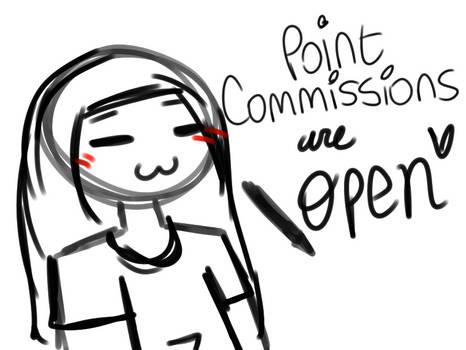 Point Commissions Are Open~! (check description)