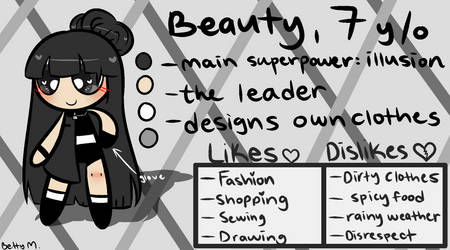 Beauty - Reference (PC 1/3) by Betty-M