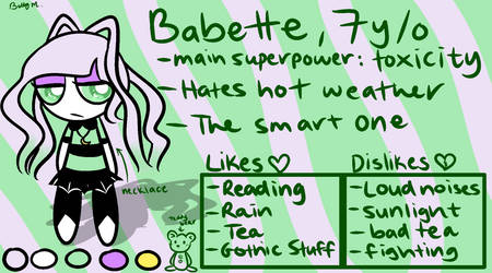 Babette - Reference (PC 3/3) by Betty-M
